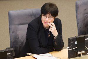 Laikinai akademinės etikos kontrolierės pareigas eis E. Žiobienė