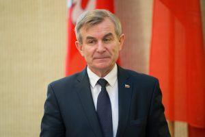 V. Pranckietis paaiškino, kodėl Seimo delegacija privalo vykti į Kiniją