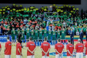 Lietuvos vyrų krepšinio rinktinė pasaulio reitinge išlieka šešta