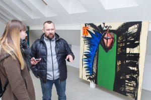 A. Martinaitis – apie tapybinį (ne)atitikimą ir jaunąją kartą
