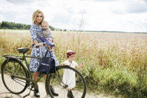 I. Kavaliauskaitė-Morkūnienė: kartais būti mama reiškia būti labai pavargusia
