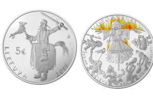 Pradedama Užgavėnėms skirtos monetos išankstinė prekyba