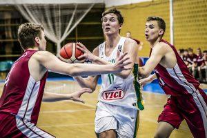 Lietuvos 16-mečiai septinti Europoje – sutriuškino Latviją
