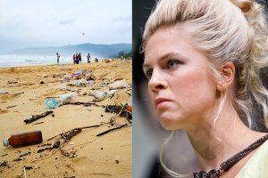 Atostogaudama Tailande aktorė E. Užaitė rinko šiukšles