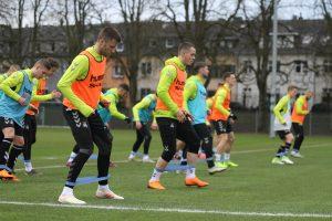 Lietuvos futbolo rinktinė – pasirengusi sunkiam darbui