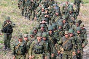 Įtampa auga: Rusijos kariuomenė tikriausiai modernizuoja savo objektus Kaliningrade