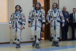 """Rusija rengiasi pirmajam skrydžiui į TKS po raketos """"Sojuz"""" nesėkmės"""