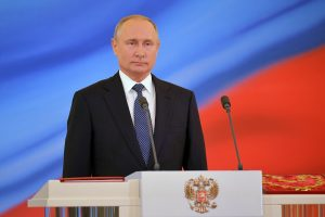 Rusijos prezidentas V. Putinas prisaikdintas 4-ai kadencijai