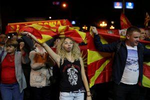 Politologas: referendumo baigtis Makedonijoje pradžiugino Rusiją