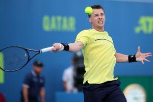 R. Berankis Katare pralaimėjo Serbijos tenisininkui