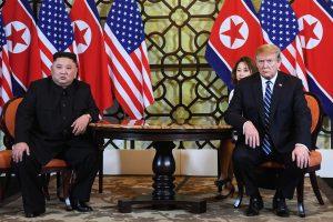 Netikėta D. Trumpo ir Kim Jong Uno derybų pabaiga: susitarimas nepasiektas