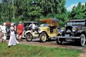 """""""Nesenstanti Klasika"""" Biržuose – senoviniai automobiliai iš aštuonių valstybių"""