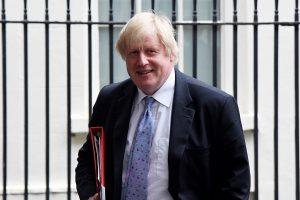 """Slaptame įraše B. Johnsonas įspėja dėl """"Brexit"""" žlugimo"""