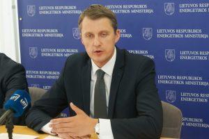 Energetikos ministras: SGD terminalas Kaliningrade Lietuvai nekelia jokios grėsmės