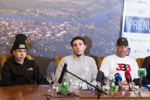 """Netikėtas posūkis: broliais Ballais susidomėjo """"Chimki"""" klubas"""