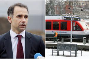 """R. Masiulis: """"Lietuvos geležinkelių"""" planai dėl maisto parduotuvių – miskomunikacija"""