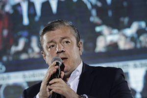 Gruzijos premjeras ketina atsistatydinti?