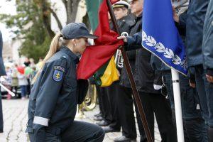 Uostamiestyje policininkai pakvietė švęsti kartu