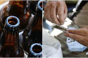 """Stebinančios mokslininkų išvados: kas labiau kenkia sveikatai – """"žolė"""" ar alkoholis?"""