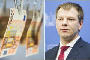 V. Šapoka: PVM mokant pirkėjui, sumažės galimybės piktnaudžiauti