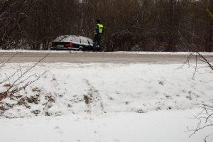 Nelaimė Klaipėdos rajone: per avariją nukentėjo du vaikai