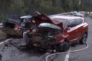Per avariją Varėnos rajone nukentėjo mažiausiai du žmonės