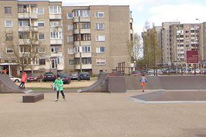 Savivaldybė atnaujino Pilaitės riedutininkų parką