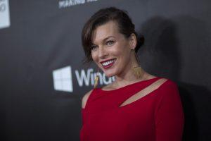 Holivudo aktorė M. Jovovich susilaukė antros dukrelės