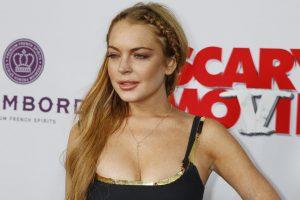 Holivudo žvaigždutė L. Lohan vos išvengė kalėjimo