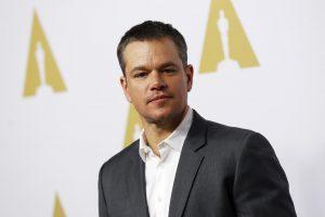 """Pasaulio įdomybės: """"Oskaro"""" negavusiam M. Damonui dovanų – kiauliauogė"""