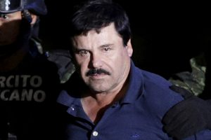 Meksikos narkotikų baronas El Chapo perkeltas į kalėjimą prie JAV sienos