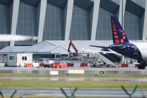 Briuselio oro uostas bus uždarytas mažiausiai iki ketvirtadienio vakaro
