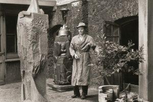 Druskininkai kviečia į A. Mončio skulptūrų ir piešinių parodą