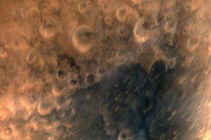 Indijos kosminis aparatas atsiuntė pirmąsias Marso nuotraukas