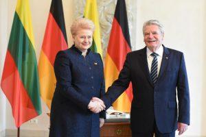 D. Grybauskaitė tikisi Vokietijos palaikymo dėl Astravo AE