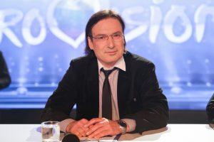 """D. Užkuraitis: jei """"Euroviziją"""" komentuočiau kaip sportą, tai būtų Dariaus šou"""
