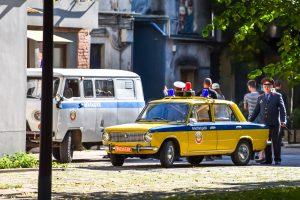 Miestiečiai išsigando centre pasirodžiusių milicininkų