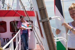 Izraelis deportavo Gazos blokadą mėginusias pralaužti aktyvistes