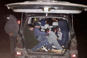 Įkliuvo dešimt migrantų iš Vietnamo gabenę latviai