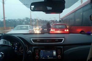 Avarija ant Vilijampolės tilto: sutriko eismas