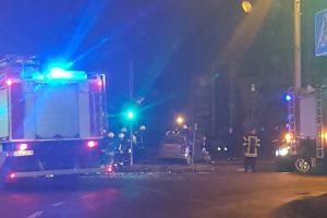 Vilijampolėje – dar viena avarija, yra sužeistųjų