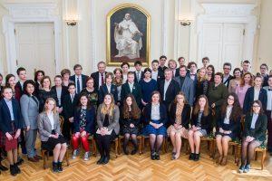 Istorijos olimpiados prizininkams – kelionės į Europos parlamentą