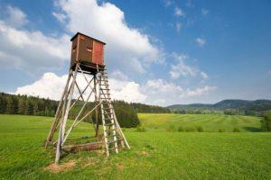 Varėnos rajone padegtas medžiotojų bokštelis: nuostolis – beveik 1,5 tūkst. eurų