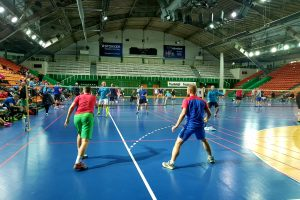 Kaune varžėsi pajėgiausi Lietuvos badmintonininkai