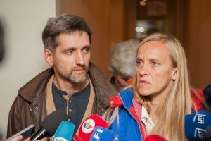 Teismas: Eglės ir Gintaro vaikai buvo paimti teisėtai
