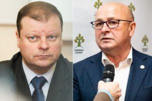 Kauno meras apie paramą S. Skverneliui: padėsiu bet kuo, kad taptų prezidentu