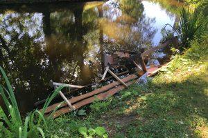 Botanikos sodą nusiaubė vandalai (ieškomi liudininkai)