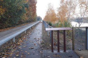 Apie dviračių take atsiradusią kliūtį: pasivažinėjimas gali baigtis tragiškai