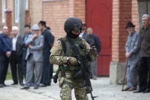 Mirtinas išpuolis Dagestane: vienas policininkas žuvo, kitas sužeistas