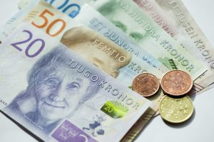 Grynieji pinigai švedams kelia stresą